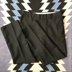 Michael Brandon - Black pinstripe dress pants